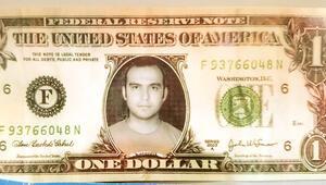Mali imam 1 dolara fotoğrafını yapıştırmış