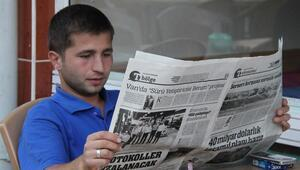 7 bini aşkın nüfuslu ilçede gazete satılmıyor