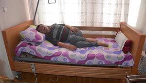 ALS hastasının konforlu yatak sevinci