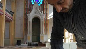 Musevi iş adamı, Edirnedeki Büyük Sinagogu gezdi