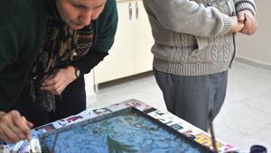 Rekortmen ebru sanatçısının UNESCO sevinci