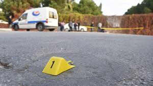 Antalyada silahla yaralama