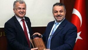 Belediye Başkan Kasap, MÜSİAD toplantısına katıldı