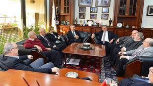 Basın Konseyi üyeleri Kocaoğlunu ziyaret etti
