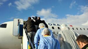 Tokat Havalimanında Ebola tatbikatı yapıldı