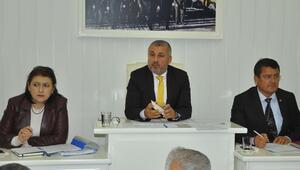 Manavgatta yılın ilk meclis toplantısı yapıldı