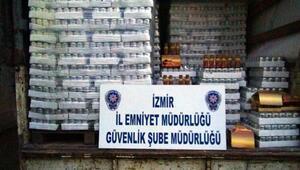 İzmirde sahte ilaç ve gıda operasyonu