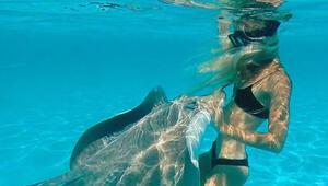 İşte gerçek deniz kızı