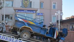 Orduda tarım aracı hırsızlığı iddiası