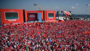 Yenikapıda AK Partilileri yasa boğan eksiklik