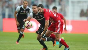 Beşiktaş Olympiakosu tek golle geçti (Maç özeti)