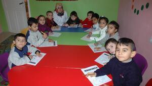 Roman çocuklar, Kuran kurslarında sosyalleşiyor