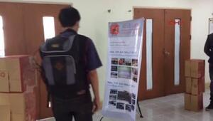 Taylandda üniversite öğrencilerinden görme engellilere müjde