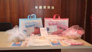 Sarıkaya Belediyesinden Hoş Geldin Bebek projesi
