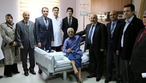 Adıyamanda ilk kez gırtlak kanseri ameliyatı yapıldı