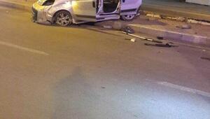 Şanlıurfada trafik kazası: 1 ölü, 4 yaralı