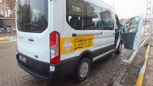 El Cezeri Fen Lisesine minibüs alındı