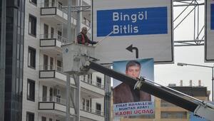 Diyarbakır'da Pankart Ve Afişler Toplandı