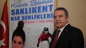 Konyaaltı Belediyesi 1. Saklıkent Kar Şenlikleri Başlıyor