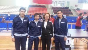 HKÜ'nün Üniversite Sporları Federasyonu Müsabakasındaki Başarı