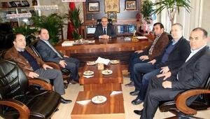 Safranbolu TSO'dan Özcan'a Hayırlı Olsun Ziyareti