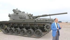 Ömrünü Tamamlayan İki Tank Vuslat Parkı'na Yerleştirildi