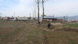 Hisarcık'ta Sulama Kanalı Temizliği