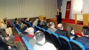 """Kasapoğlu'dan """"Aile İçi İletişim"""" Konferansı"""