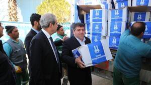 Erzurum Belediyesi'nin Yardım Tır'ı Haliliye Belediyesi'ne Ulaştı