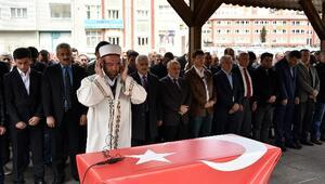 Gümüşhane'de Şehit Savcı İçin Gıyabi Cenaze Namazı Kılındı