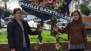 Nazillili Gazeteciler Terörü Lanetledi
