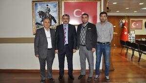 Saraköy Ülkücü İşleri Derneği, Başkan Alıcık'ı Ziyaret Etti