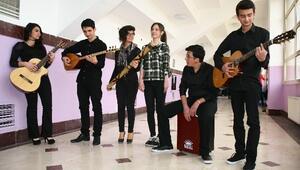 Ardahanlı Gençlerin 1079 Kilometrelik Müzik Yolculuğu