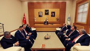 Başkan Toçoğlu Adayları Ağırladı