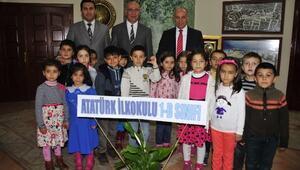 Karaman Belediyesine Öğrencilerin Ziyaretleri Sürüyor