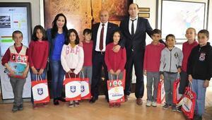 Öğrencilerden Başkan Çalışkan'a Ziyaret