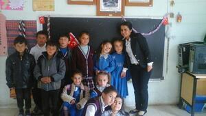 Küre'de Köy Okulunda 23 Nisan Coşkusu