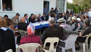 DSİ 13. Bölge Müdürü Özgür, Aksu'da Vatandaşları Dinledi