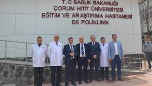 Hitit Üniversitesi'nde 1 Milyon 340 Bin 549 Hastaya Poliklinik Hizmeti Verildi