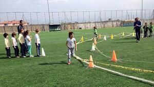 Koçarlı'da Çocuk Oyunları Şenliği Renkli Görüntülere Sahne Oldu