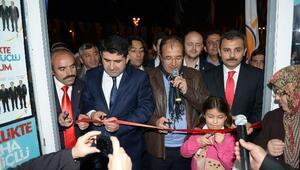 AK Parti'den Miting Gibi Skm Açılışı