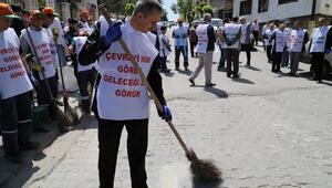 Beypazarı'ndan Temiz Çevrem Kampanyasına Destek