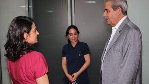 Başkan Demirkol'dan Hemşirelere Anlamlı Ziyaret