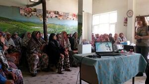 Lapseki Köylerinde Kanser Eğitimleri