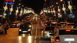 Erzurum'da Araç Sayısı Arttı