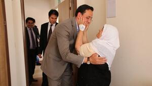 AK Parti Milletvekili Adaylarından Hastalara Moral Ziyareti