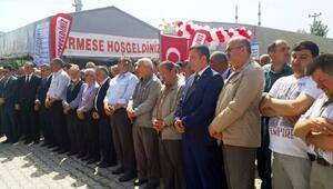 Kozcağız'da Hayır Çarşısı Dualarla Açıldı