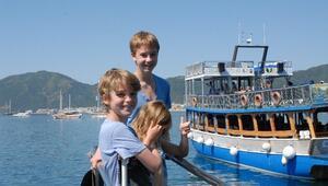 Marmaris'te Turistler Gizli Cenneti Mavi Tur İle Keşfediyor