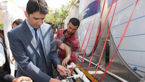 Bingöl'de 2 Bin Litre Süt Dağıtıldı