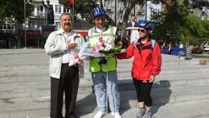 Burhaniye'de Bisiklet Festivali Başladı